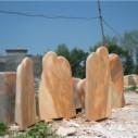 南阳五彩石自然奇石产地图片