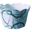 供应用于食品包装的HD-16 PET小花朵淋膜纸杯
