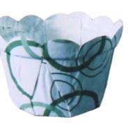 HD-16 PET小花朵淋膜纸杯图片