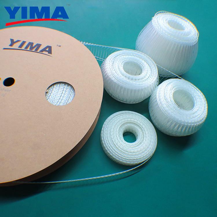 供应用于玩具五金包装的弹性胶针 弹性卷装TPU胶钉 玩具定位绑带机专用 70-85mm
