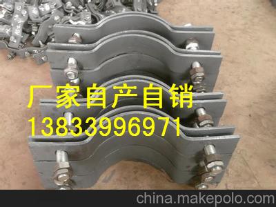 供应用于电厂的晋江蒸汽管道用隔热管托 双右拉杆 D6管夹横担 大量生产弹簧支吊架厂家