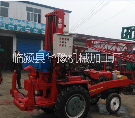 供应拖拉机带液压钻机 动力头钻机图片