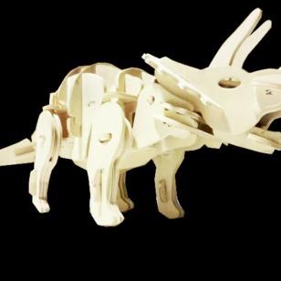 木制恐龙电动玩具图片