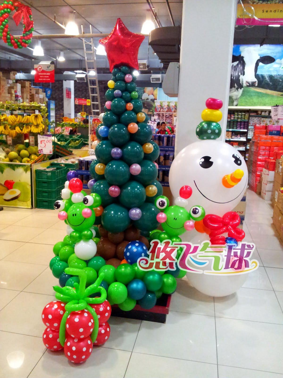 气球圣诞装饰批发