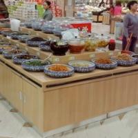 武汉超市干货架、禽蛋柜、腊点柜