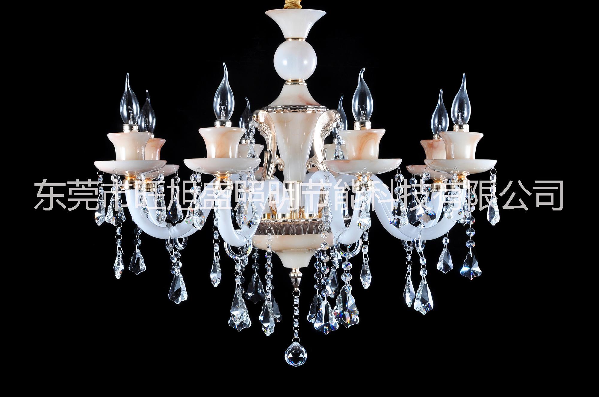 欧式玉石水晶灯-2002图片|欧式玉石水晶灯-2002样板