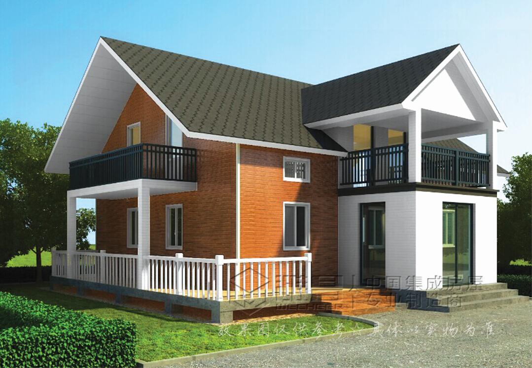农村别墅带堂屋房屋设计图展示