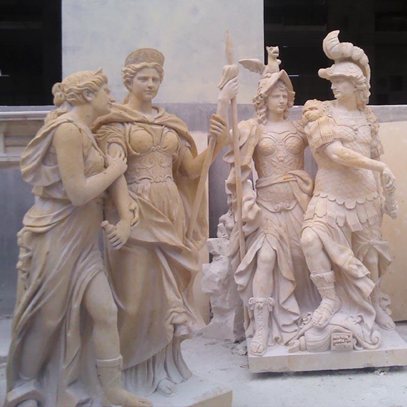 供应砂岩欧式人物雕塑定做,砂岩欧式人物雕塑定做,佛山欧式人物雕塑