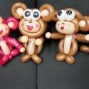 猴年气球造型装饰/卡通气球造型图片