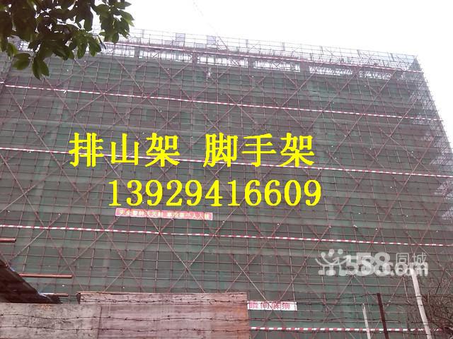 供应用于建筑装修的东莞搭钢管架竹排架脚手架
