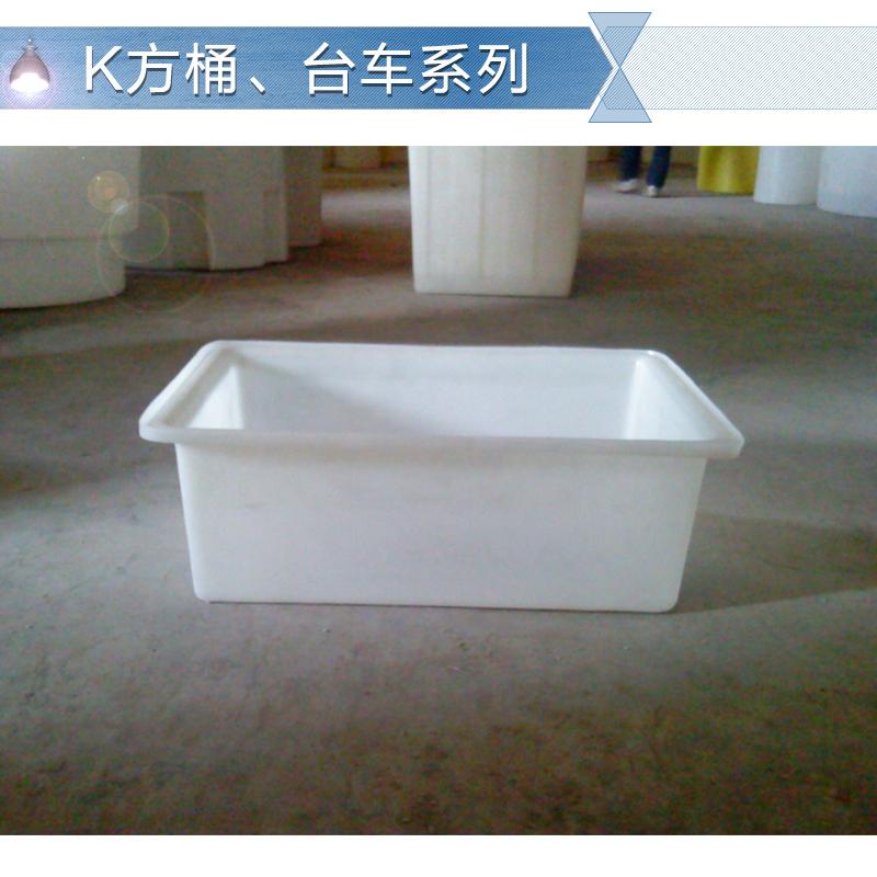 供应东莞PE塑料方桶 食品级塑料方箱 车间周转桶 台车 耐酸耐碱方桶