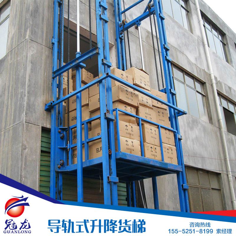 供应用于导轨式升降 货梯的重庆升降货梯