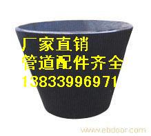 供应用于水池的玉米喇叭口 DN350喇叭口批发价格  Q235吸水喇叭口生产厂家图片