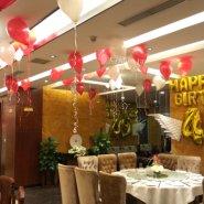 宝宝宴气球装饰/百日宴气球布置图片