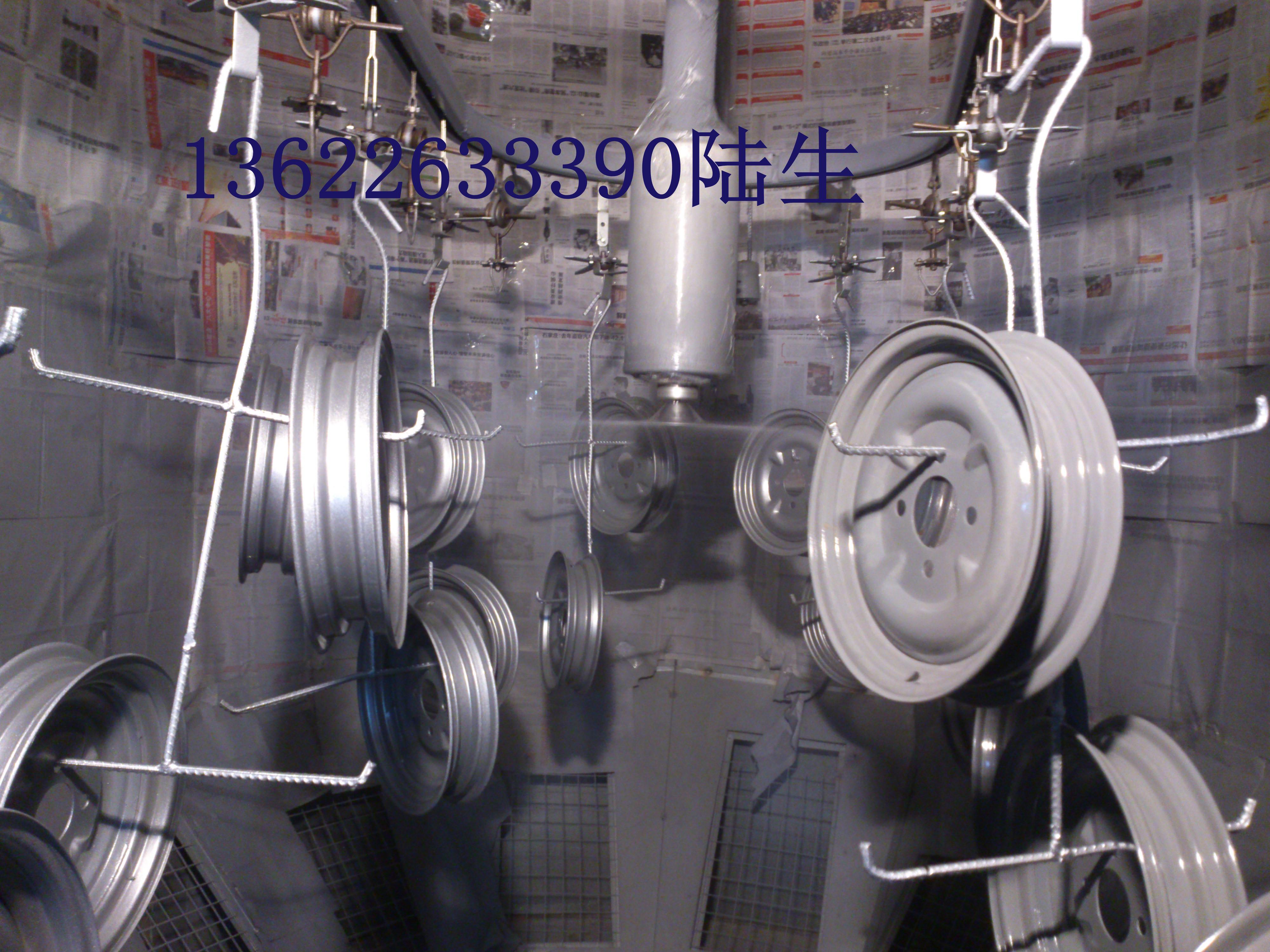 供应汽车轮毂全自动喷漆生产线、汽车配件自动喷漆设备、轮胎架自动喷漆整厂设备