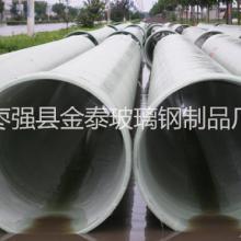 玻璃钢化工管道 机制缠绕工艺管道 夹砂玻璃钢管道 玻璃钢电缆管图片