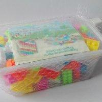 澄海塑料玩具拼装拼砌益智小积木块