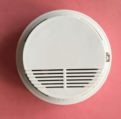 有线联网离子式烟雾报警器 12V常开常闭信号有线联网烟雾报警器 深圳烟雾报警器厂家