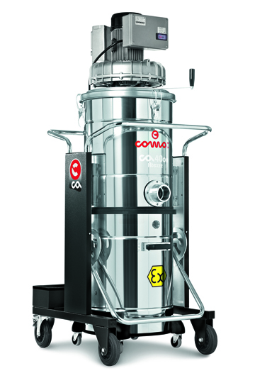 供应防爆型三相电源驱动工业吸尘器CA 40 ON ATEX 22