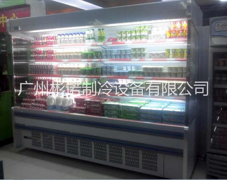 供应超市风幕柜,水果保鲜柜,颜色尺寸都可订做.