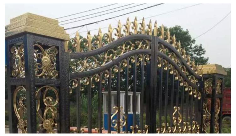欧式别墅庭院大门