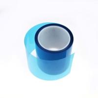 供应用于胶带模切的蓝色PET离型膜,蓝色离型膜价格批发商,蓝色离型膜各种离型力