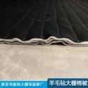 羊毛毡大棚棉被图片