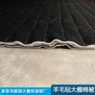 羊毛毡大棚保温被图片