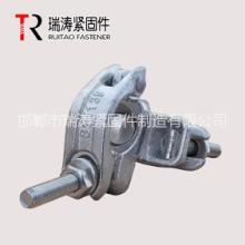 瑞涛紧固件建筑用锻造英式锻压旋转扣件Q235EN74/BS113948.3mm批发