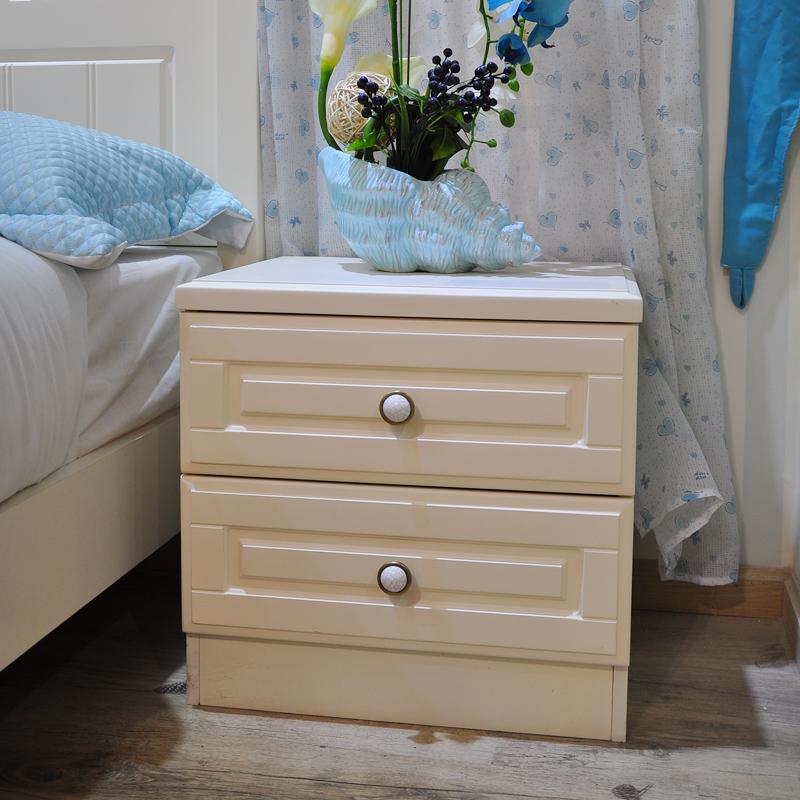 家具欧式美式乡村板式白色床衣柜书桌书架床头柜组合