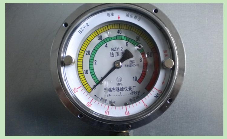 供应用于化工|食品|石油的不锈钢压力表,无锡市珠峰仪表厂