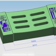 供应西安高速公路水沟盖板模具 四孔盖板 六孔盖板 八孔盖板 生产厂家批发报价 下水沟盖板塑料模供应 下水沟盖板厂家