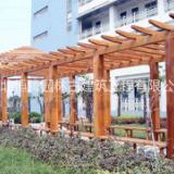蔚县哪有精美仿木花架仿木栏杆仿木制品仿木凉亭的厂家