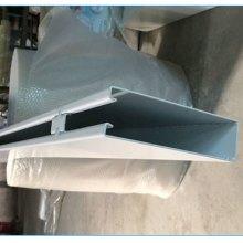 U型槽铝通 雷克萨斯4s店U型槽铝通吊顶 50*80白色U型铝通价格图片