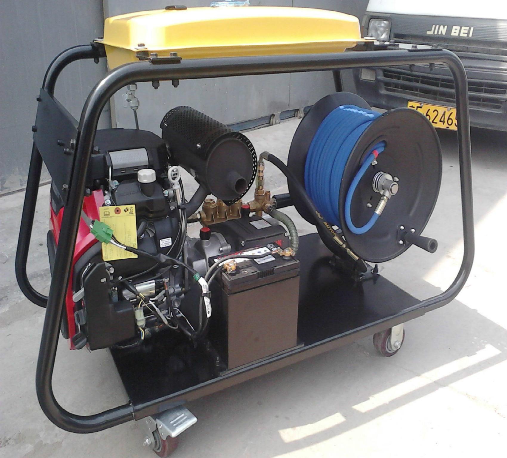 供应汽油机管道疏通机汽油版高压水管道清洗机