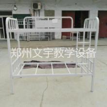 家用双层铁架床上下铺床 宿舍铁床简易全拆装双层床郑州双层床批发