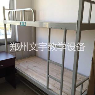 钢制员工成人公寓床图片