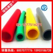 红色耐高温硅胶管图片