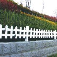 PVC观测站护栏 花坛护栏图片