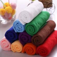 超细纤维毛巾美容美发洗车巾 超细纤维毛巾美容美发洗车用毛巾浴批发