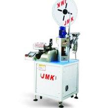 供应用于线束线材加工的JM-08B全自动单端打端子机全全自动端子机半自动端子机电脑式机械式裁线机剥皮机气动胶壳插入机图片