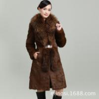 辛集茗斯皮草服饰冬季新款皮草外套