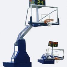 七台河市中学电动液压篮球架更安全真材实料款式展现批发
