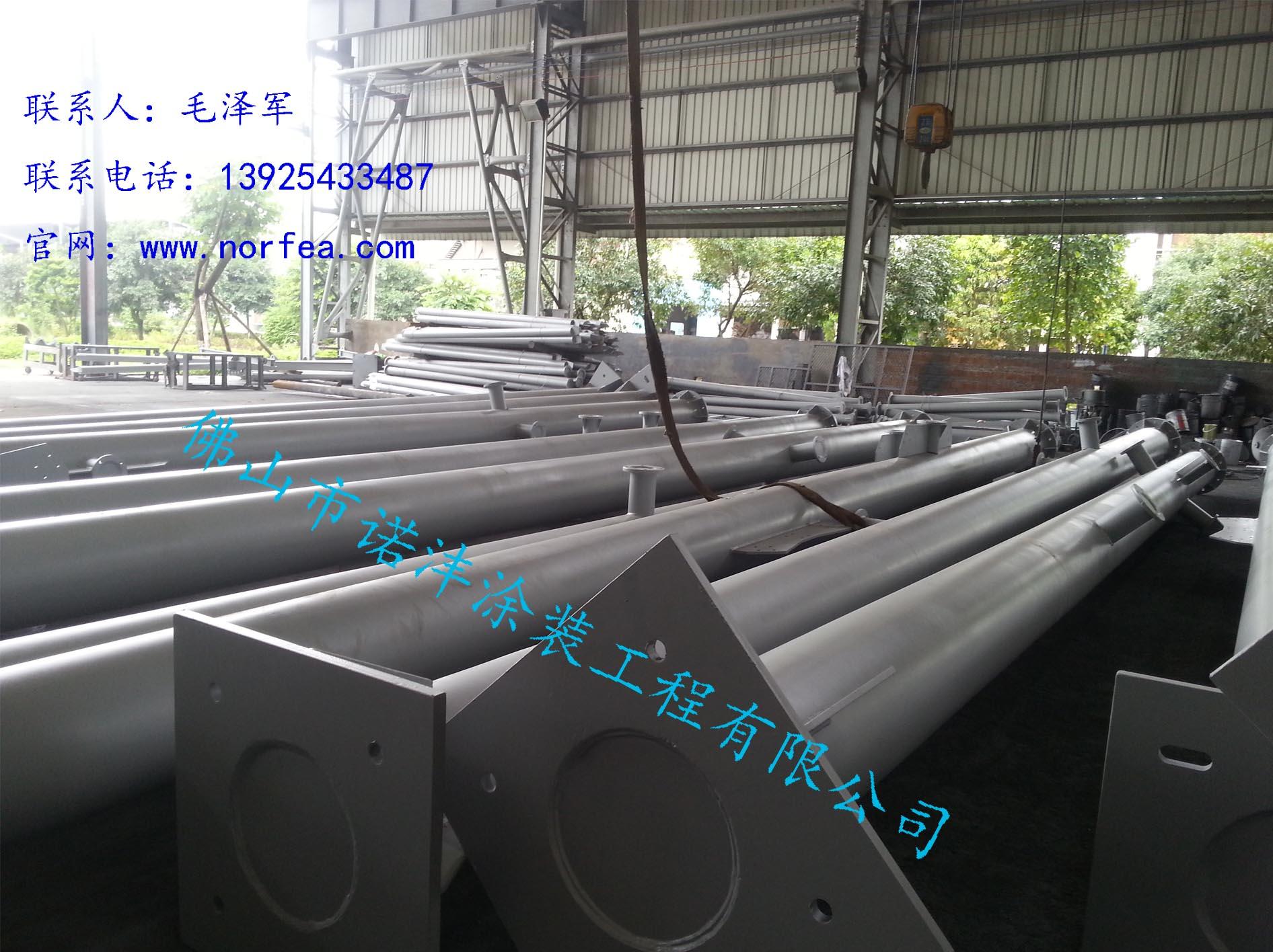 供应用于喷砂,喷漆的钢结构喷砂抛丸喷漆加工