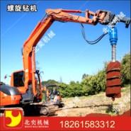 供应电力电信电杆挖坑机冻土挖坑机直径200mm的新款挖掘机液压钻坑机 机械挖孔机 直径225mm的新款挖掘机液压钻坑机
