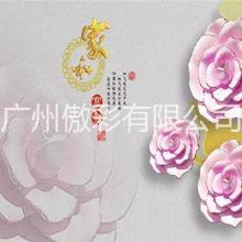 广州傲彩背景墙打印机-3D数码喷绘万能平板打印机UV打印机图片