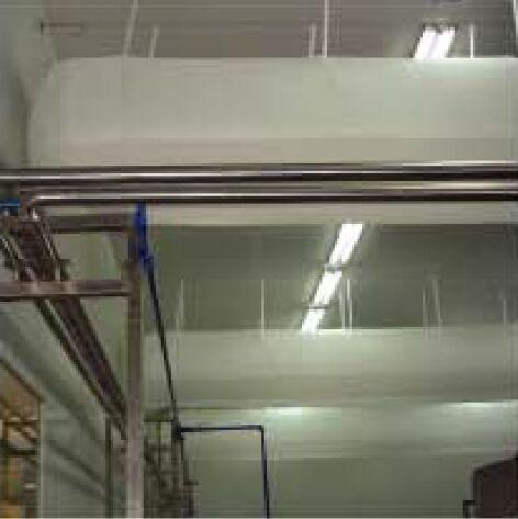 厂房暖通空调布风管图片/厂房暖通空调布风管样板图 (4)