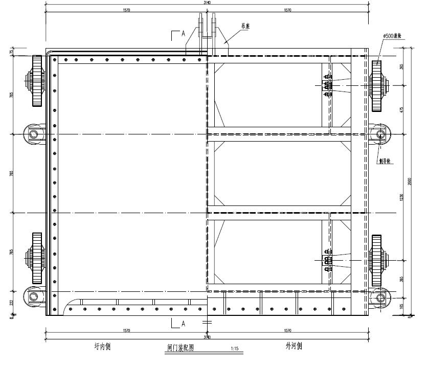 焊接钢制闸门/不锈钢闸门/平面定轮/滑动/弧形钢闸门/叠梁闸,价格