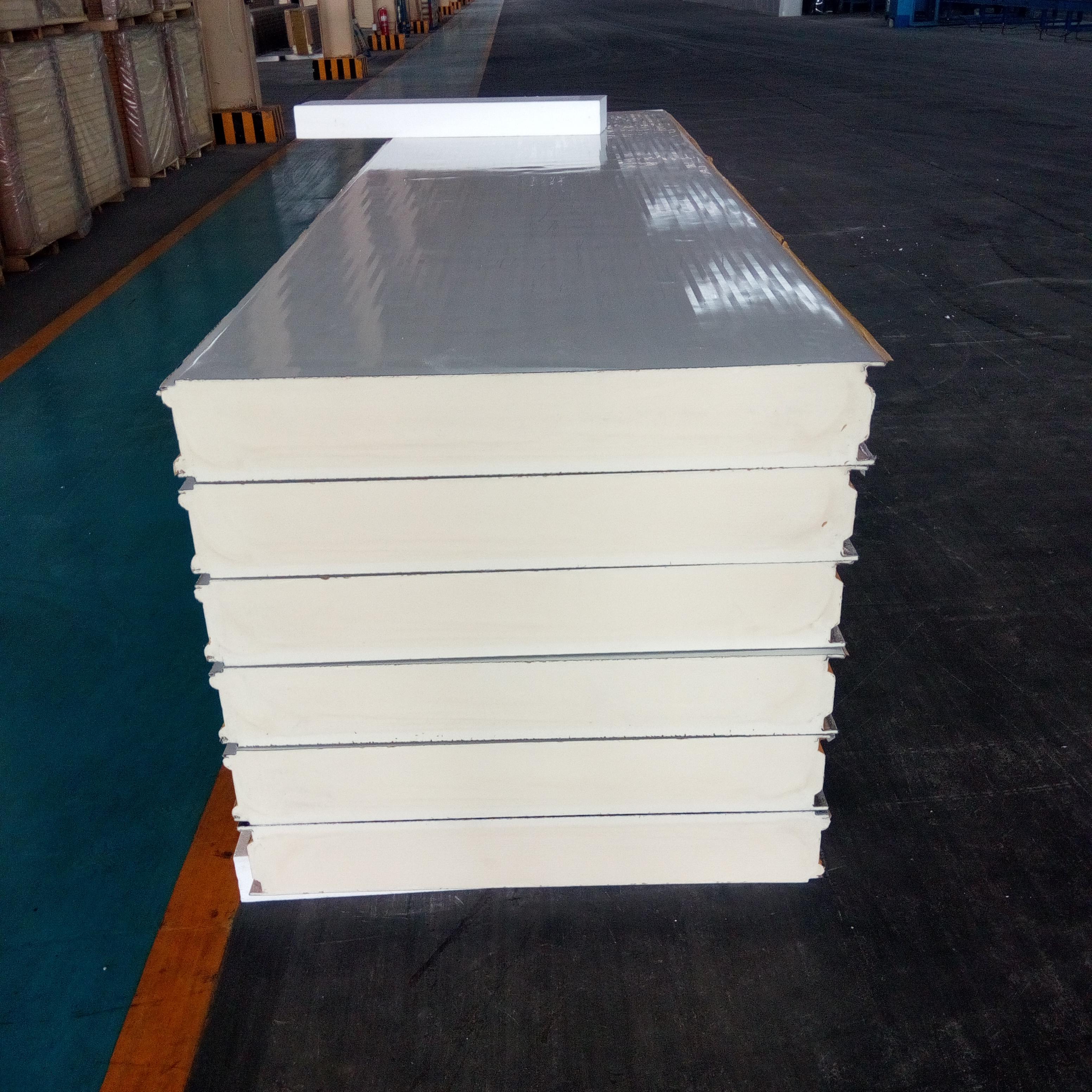 供应用于高端厂房|冷库|仓库的青岛热销中的聚氨酯复合板