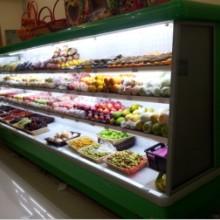 供应水果风幕保鲜柜 水柜冷藏柜生鲜水果店保鲜柜 一体分体水果柜定制 厂家直销
